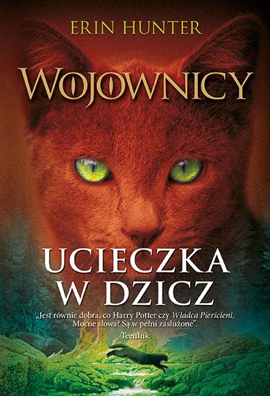Cat Warrior okładka książki